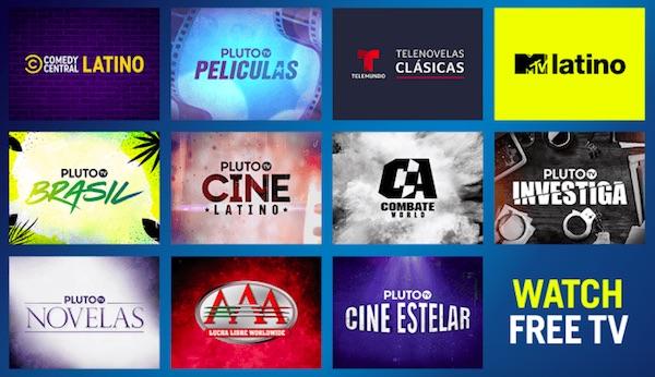 Pluto TV Latino