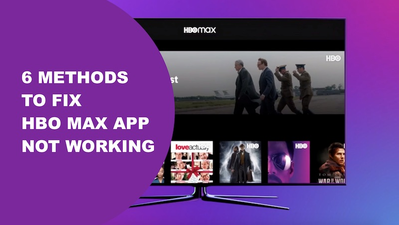 HBO Max App Not Working