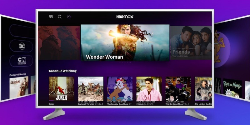 HBO Max on Samsung Smart TV