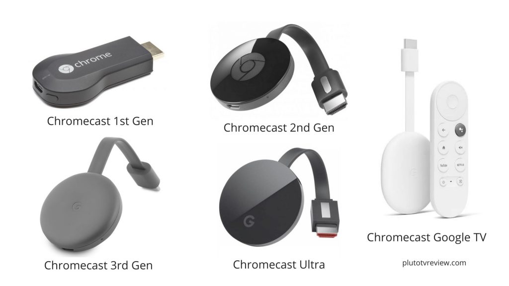 chromecast models